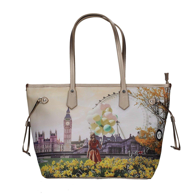 47975a5dea Borsa donna Y Not London Flower J-319 Shopping grande – Berla