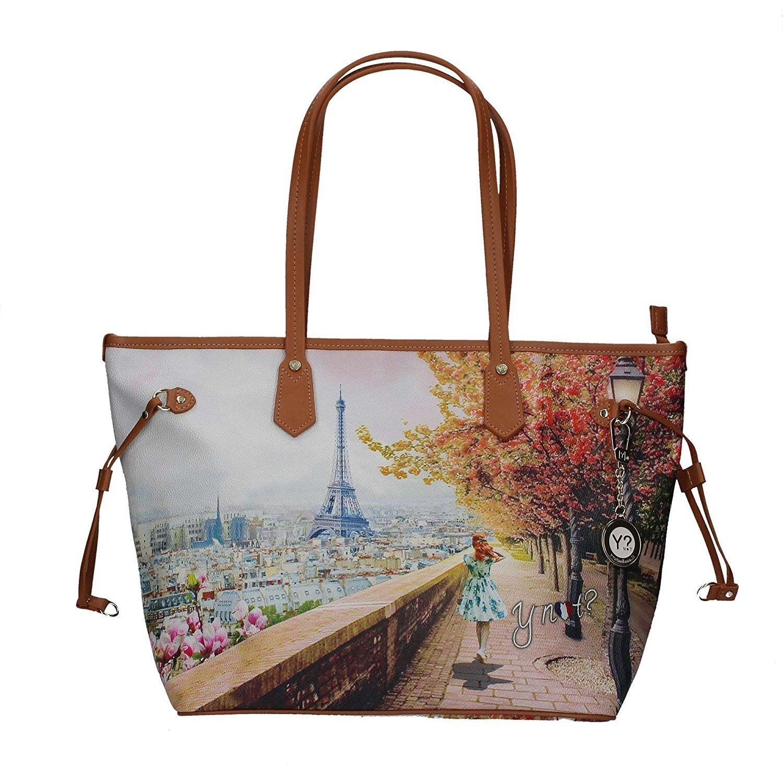 bd719629e8 Borsa donna Y Not Parigi Eiffel J-319 Shopping grande – Berla
